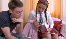 Anal Fuck is just the right thing be required of Horny Schoolgirl