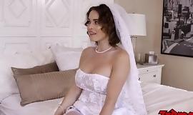 """Walka mężczyzny = """"żona"""" zdradza małżonka podczas dotykania BBC w dniu ślubu"""