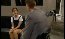 Dim-witted Schoolgirl Gets Drilled
